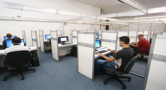 Estrutura é montada para agilizar atendimento aos pacientes do novo coronavírus em Olinda