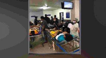 As vítimas foram socorridas para o Hospital Otávio de Freitas, no bairro de Tejipió, na Zona Oeste do Recife