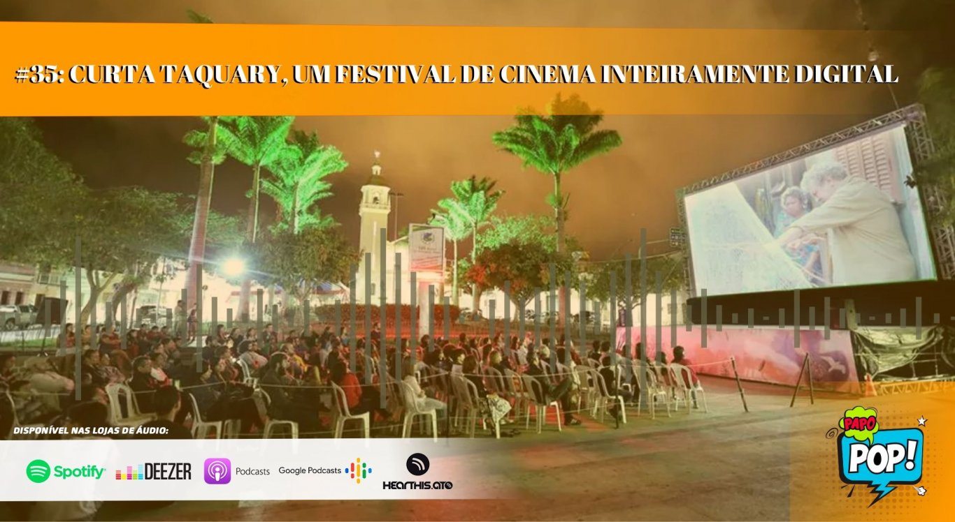 Festival de cinema de Taquaritinga do Norte precisou buscar alternativas para acontecer
