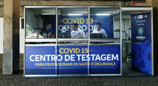 Covid-19: Pernambuco tem postos de testagem para profissionais da saúde e segurança