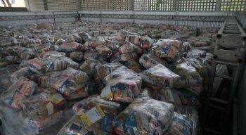 Expectativa é entregar 126 mil cestas básicas