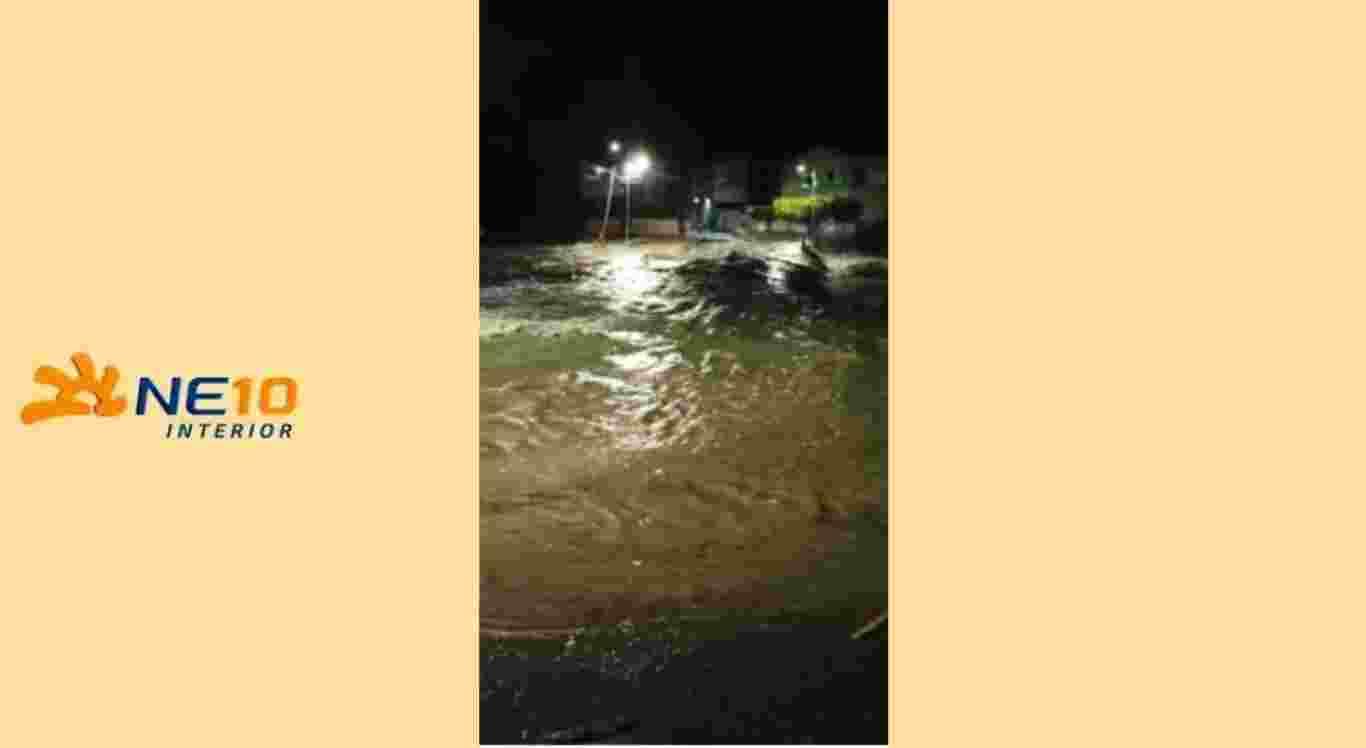 Chuvas causaram alagamentos em Caruaru