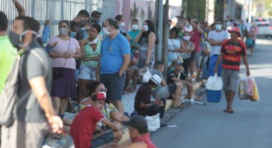 Agência da Caixa na Praça da República, no bairro de Santo Antônio