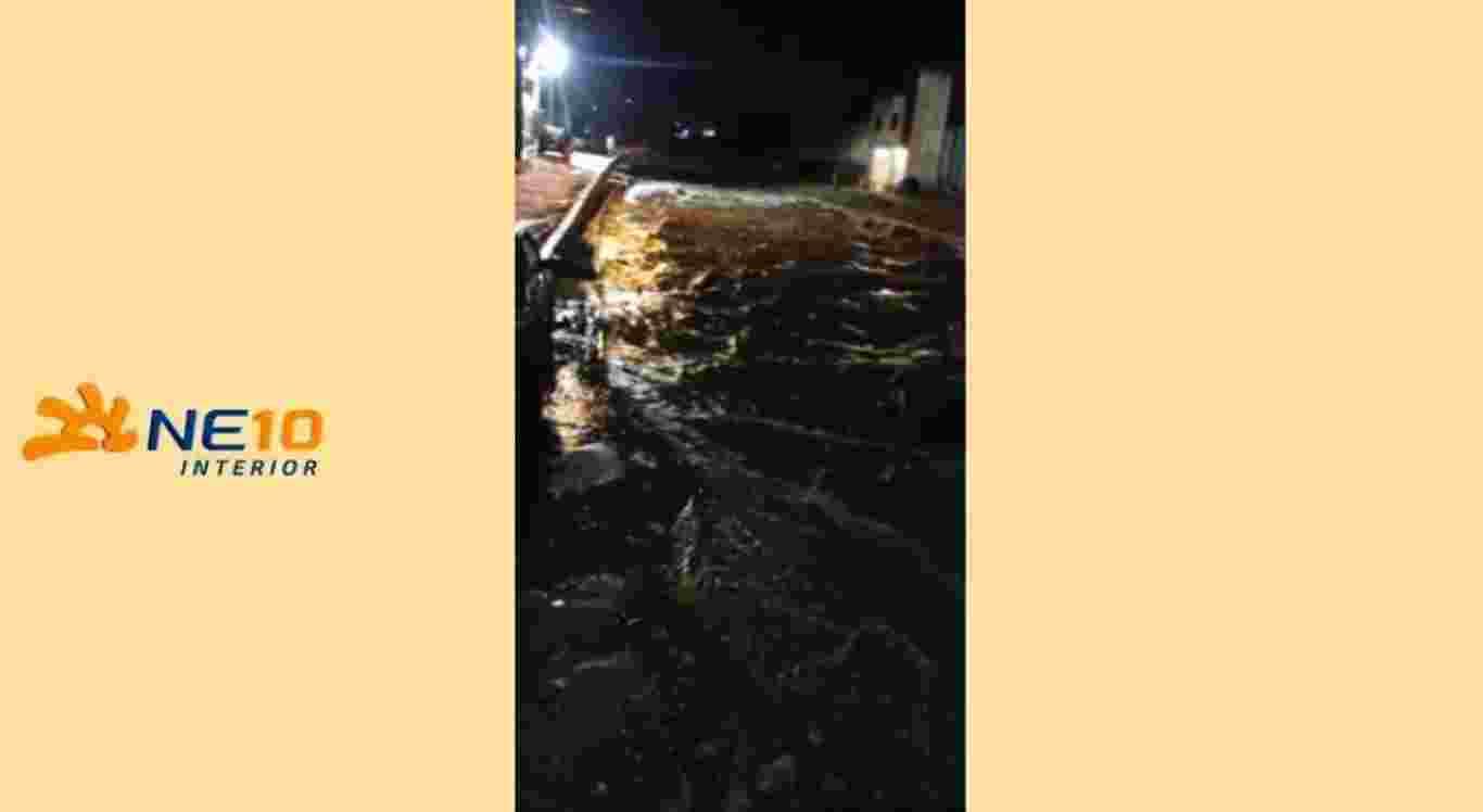 Chuvas fortes atingiram Caruaru no domingo (26)