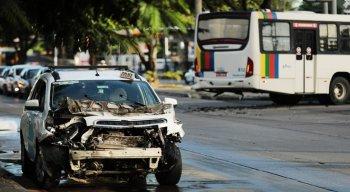 O acidente aconteceu na manhã desta quarta-feira (29)