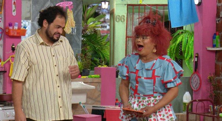 Jeison Wallace e Matheus Ceará vivem um casal apaixonado na série