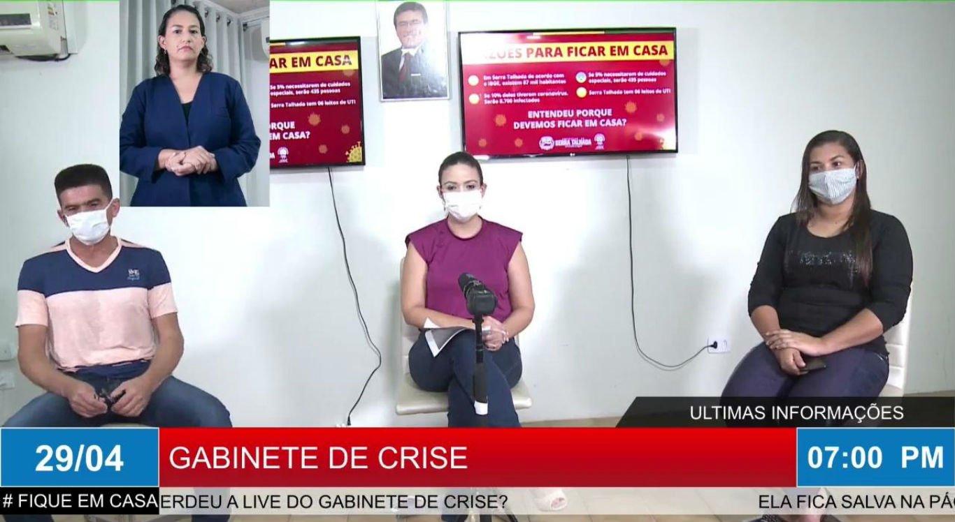 Live do Gabinete de Crise de Serra Talhada