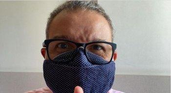 Ciro Bezerra tranquilizou internautas sobre seu estado de saúde após contrair o novo coronavírus