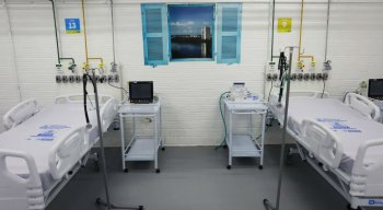 PCR Inaugura o terceiro hospital de Campanha provisório no Bairro da Imbiribeira.