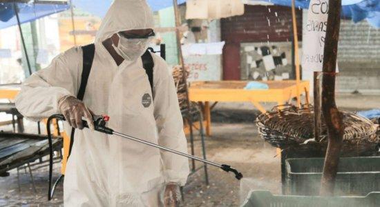 Coronavírus: TI da PE-15 é higienizado nesta terça-feira (5)