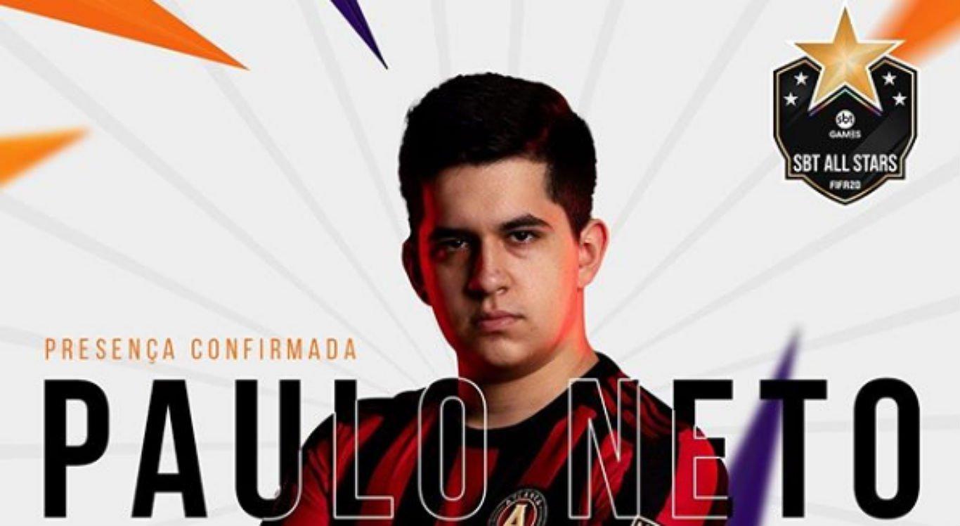 Paulo Neto, 17 anos, participa de campeonato de games