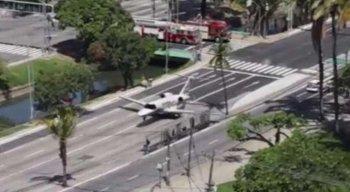 Vídeo de avião pousando na Avenida Agamenon Magalhães é montagem