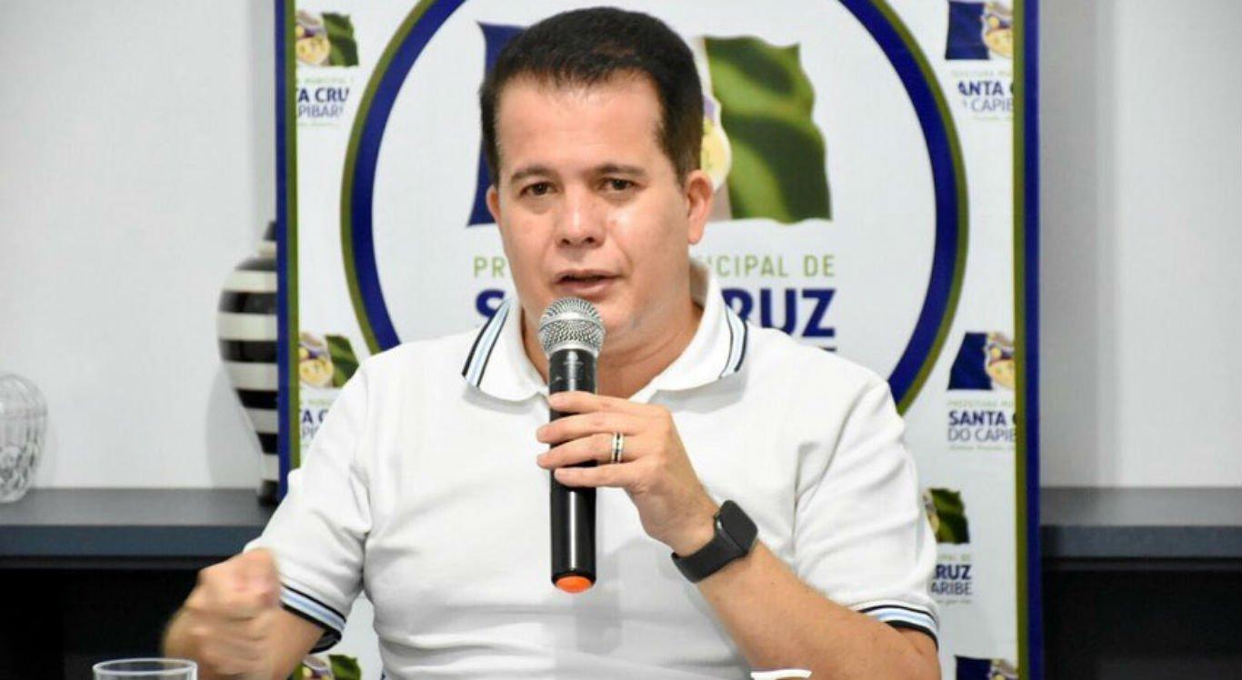 Prefeito de Santa Cruz do Capibaribe, Edson Vieira