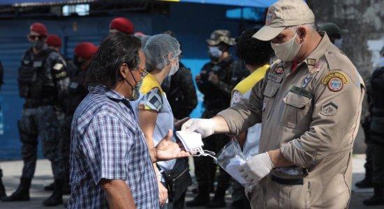 Coronavírus: operação conscientiza população no Recife sobre prevenção