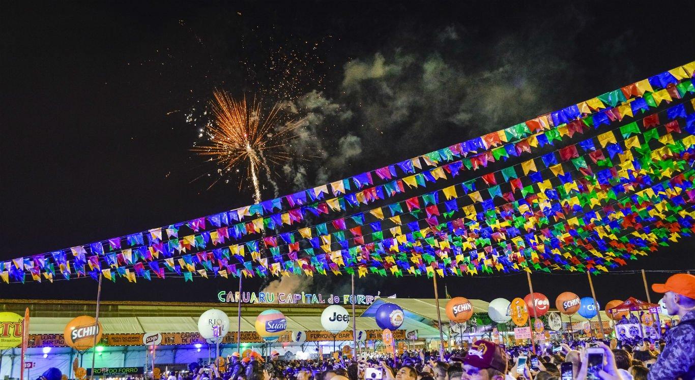Abertura do São João de Caruaru em 2019