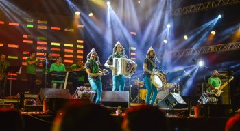 Fulô de Mandacaru faz show relembrando Luiz Gonzaga