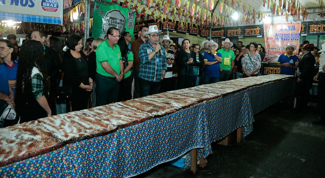Festa do Maior Bolo de Macaxeira