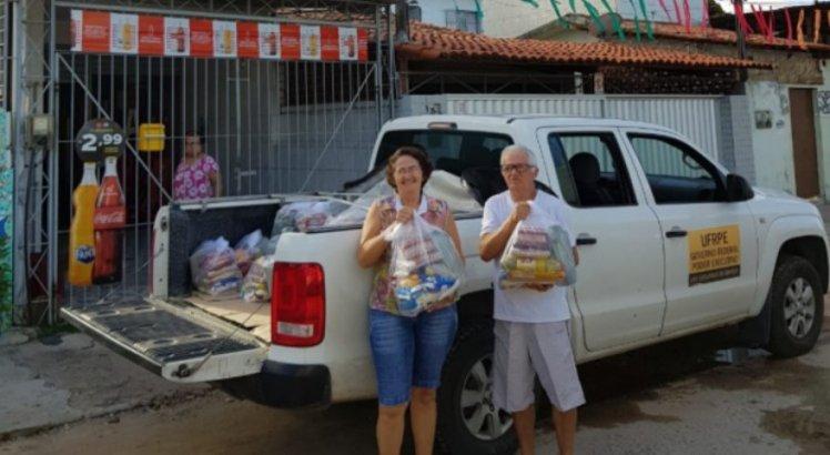 O Ruralinda Solidária está recolhendo doações de alimentação, produtos de limpeza e de higiene pessoal