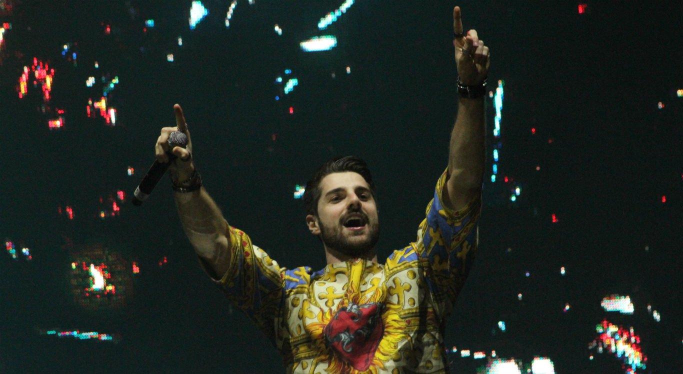 DJ Alok se apresenta no palco do Pátio de Eventos Luiz Lua Gonzaga