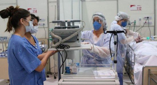 Pernambuco soma 49.720 casos e 4.102 mortes pelo coronavírus