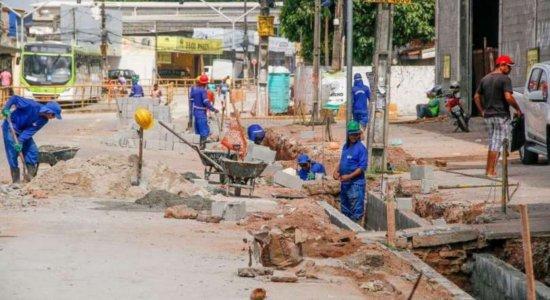 Obras alteram trânsito na Presidente Kennedy, em Olinda
