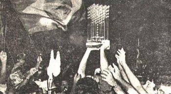 Taça das Bolinhas conquistada pelo Sport no Campeonato Brasileiro de 1987.