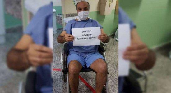Coronavírus: Maciel Júnior deixa hospital e volta para casa