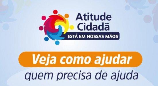 Atitude Cidadã: confira como ajudar e doar neste dia de solidariedade