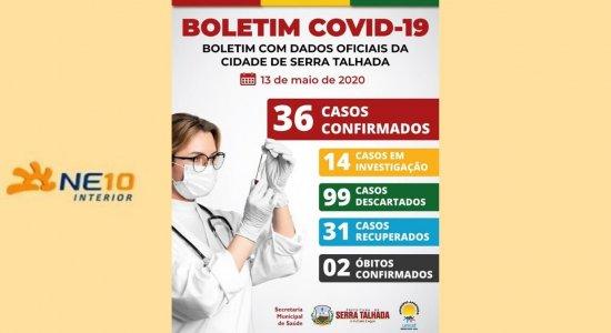 Boletim dessa quarta-feira (13) da Prefeitura de Serra Talhada