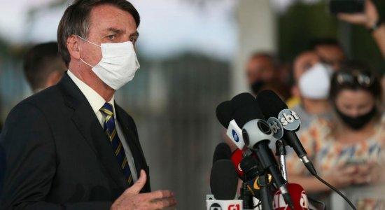 Resultado do novo teste de Bolsonaro para covid-19 é divulgado