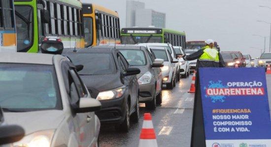Rodízio de carros na RMR segue até este domingo (31)