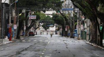 Rua do Imperador, na área central do Recife