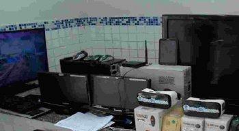Os equipamentos furtados são avaliados em R$ 30 mil