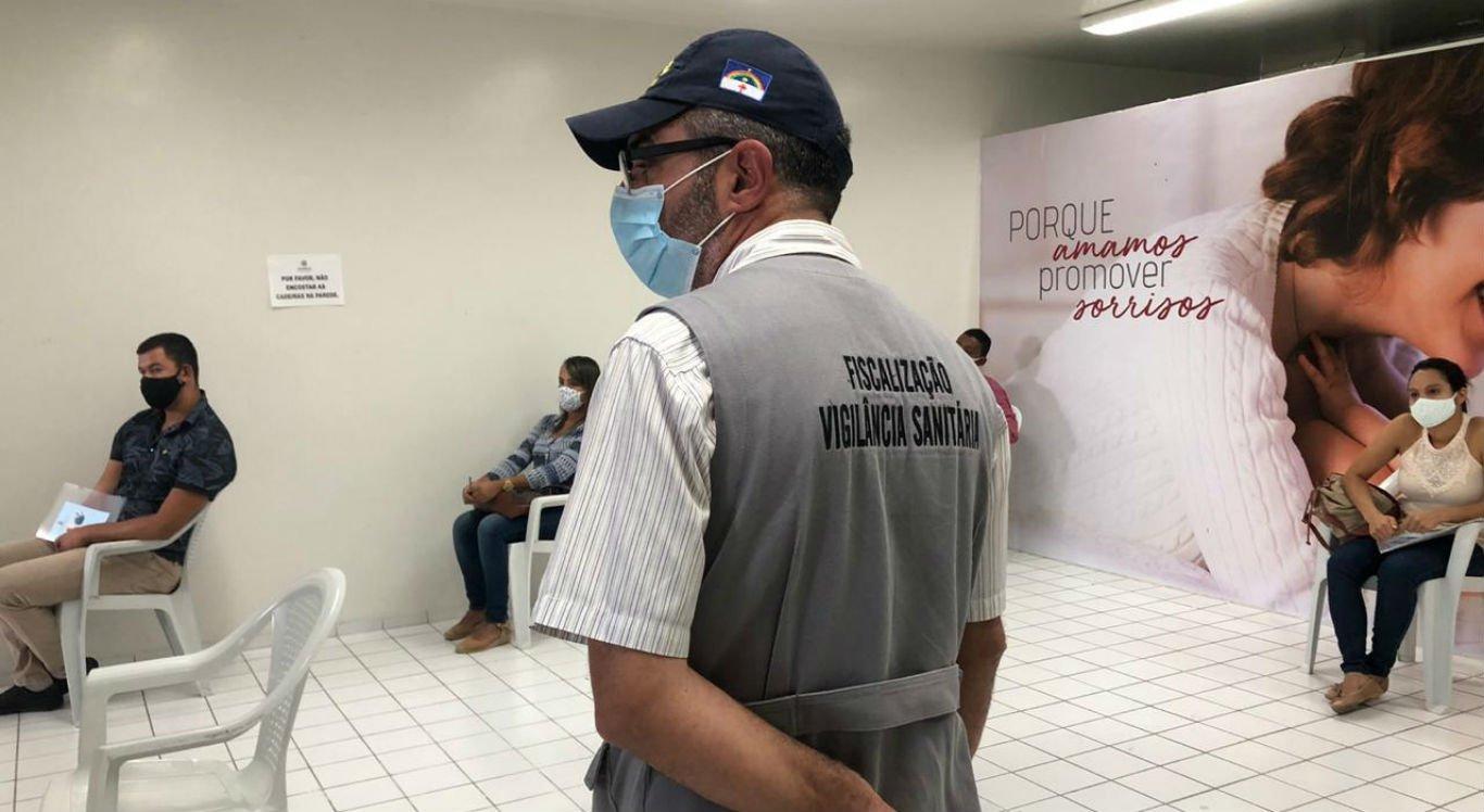 Profissionais passaram por capacitação para barreiras sanitárias