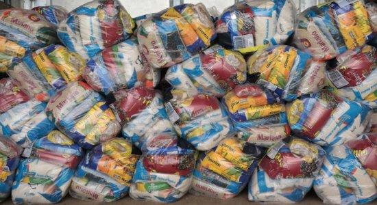 Atitude Cidadã: projeto solidário da UFRPE recebe doações de cestas básicas e kits de limpeza