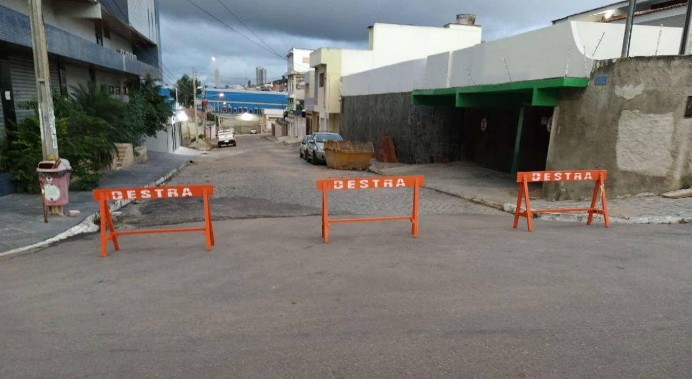 Ruas no entorno do Parque 18 de Maio foram interditadas