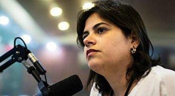 Deputada federal, Priscilla Krause, concedeu entrevista à TV Jornal