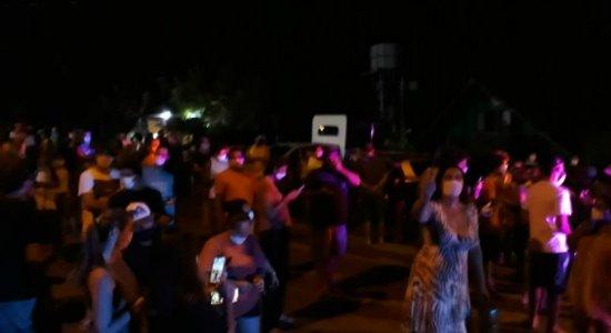 Moradores de Fernando de Noronha protestam contra chegada de pessoas infectadas com coronavírus