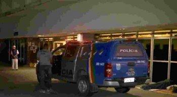 A vítima foi socorrida para o Hospital da Restauração