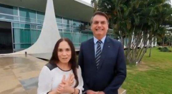 Regina Duarte deixa cargo de secretária Nacional de Cultura