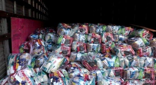 Atitude Cidadã: Igreja recebe doação de mais de 5 mil cestas básicas