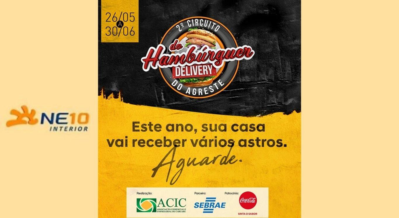 Circuito do Hambúrguer do Agreste será no formato delivery em 2020