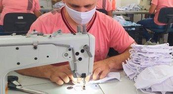 Fábricas de confecção do Agreste e da RMR fornecem novas máscaras de tecido a ações do Governo de Pernambuco