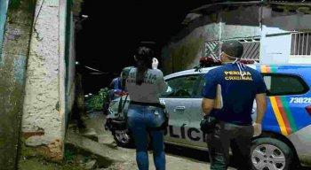 O crime aconteceu na Rua do Cruzeiro, no bairro da Charnequinha