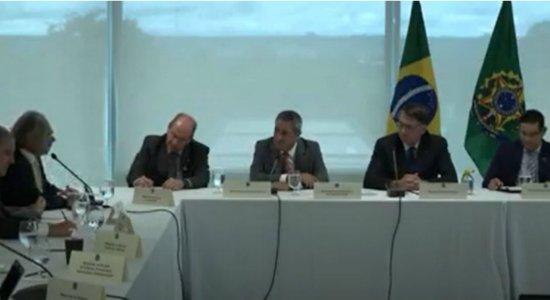 Ministro do STF retira sigilo de vídeo de reunião ministral citado por Sergio Moro como prova de interferência na PF