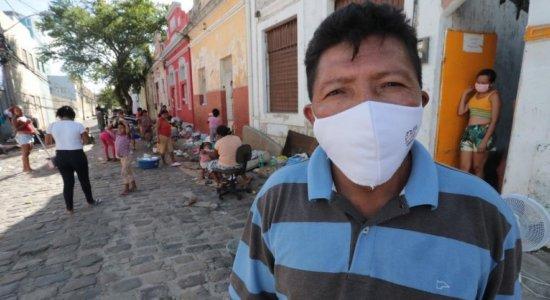 Incêndio atinge abrigo de venezuelanos no centro do Recife