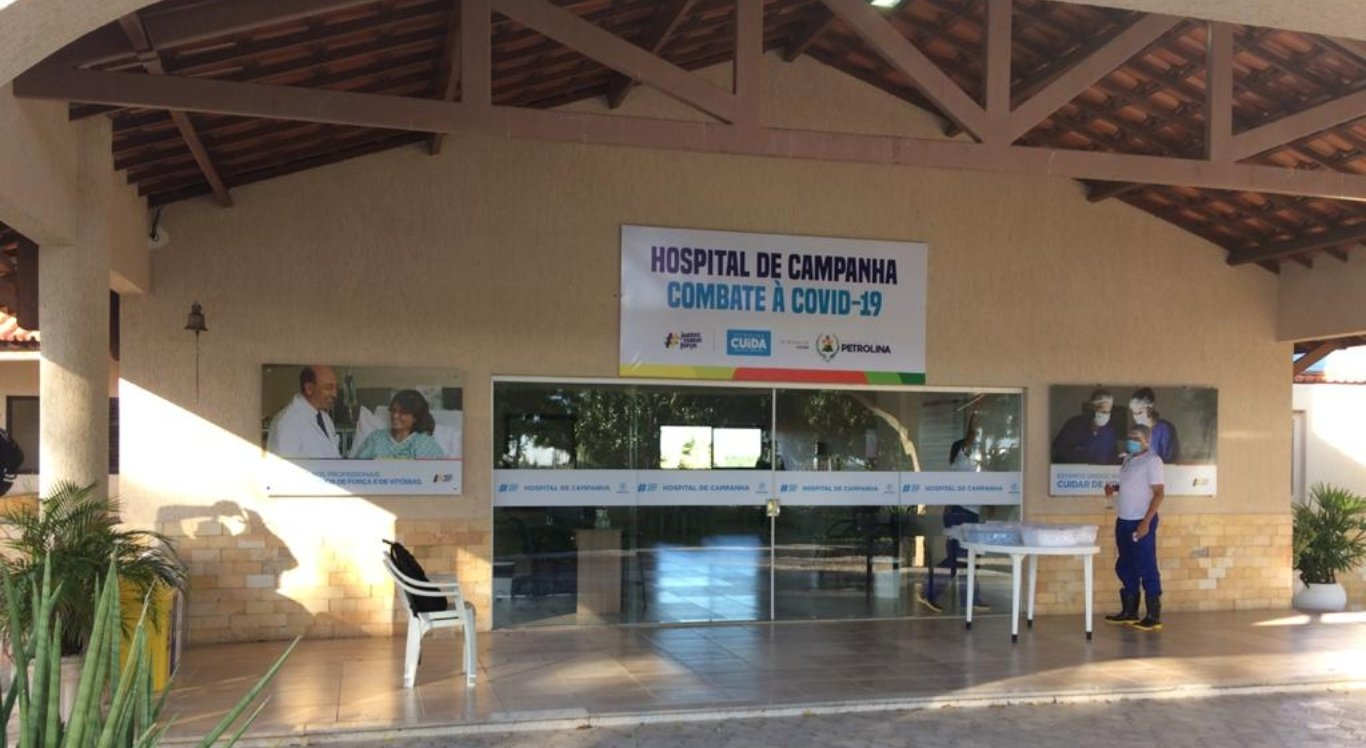 Hospital de campanha de Petrolina para pacientes com coronavírus será entregue
