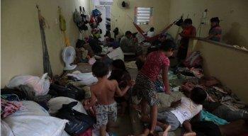 São 48 venezuelanos morando na mesma casa