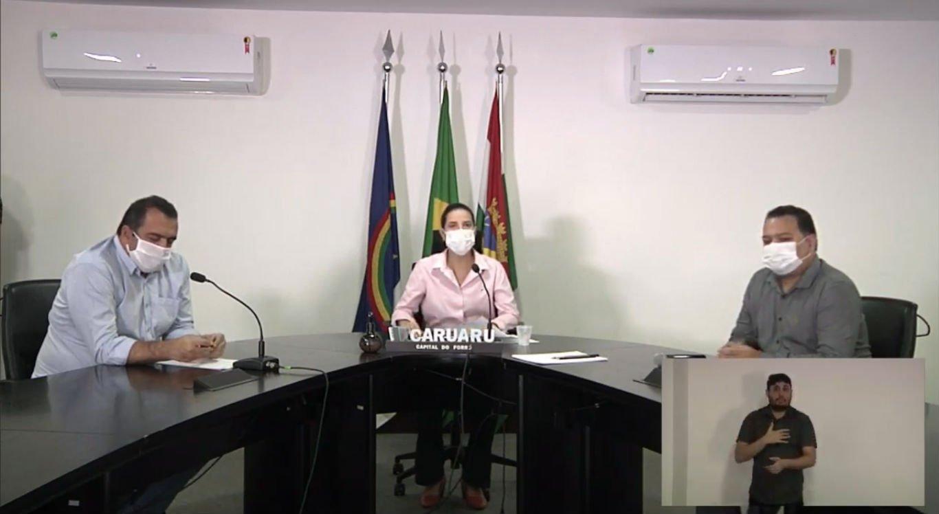 Prefeitura de Caruaru anuncia novas medidas contra o novo coronavírus