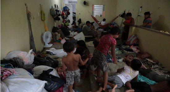 Veja a situação de venezuelanos após incêndio na casa onde moram